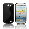 BACK CASE S-line - SAM I8730 GALAXY EXPRESS BLACK