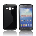 BACK CASE S-line - SAM S7272 GALAXY ACE 3 BLACK