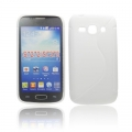 BACK CASE S-line - SAM S7272 GALAXY ACE 3 WHITE