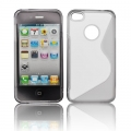BACK CASE S-line - APP IPHO 4 GRAY S-DESIGN