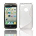 BACK CASE S-line - APP IPHO 4/4S WHITE