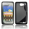 BACK CASE S-line - SAM I8150 GALAXY W BLACK