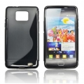 BACK CASE S-line - SAM I9100/i9105 S2 plus BLACK