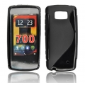 BACK CASE S-line - NOK 700 BLACK