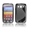 BACK CASE S-line - SAM S5690 GALAXY XCOVER BLACK
