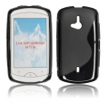 BACK CASE S-line - SE WT19I LIVE BLACK