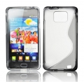 BACK CASE S-line - SAM I9100 GALAXY S2 GRAY