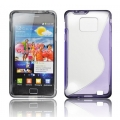 BACK CASE S-line - SAM I9100 GALAXY S2 VIOLET