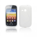 BACK CASE S-line - SAM S6310 GALAXY YOUNG WHITE