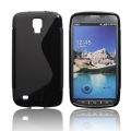 BACK CASE S-line - SAM I9295 GALAXY S4 ACTIV BLACK