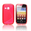 BACK CASE S-line - SAM S6310 GALAXY YOUNG RED
