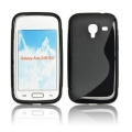 BACK CASE S-line - SAM I8160 GALAXY ACE 2 BLACK