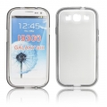 BACK CASE - SAM I9300 GALAXY S3 TRANSPARENT/MATT