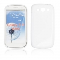 BACK CASE S-line - SAM I9300 GALAXY S3 WHITE