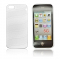 BACK CASE WAVE-line - APP IPHO 5 WHITE