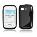 BACK CASE S-line - SAM S5300 GALAXY POCKET BLACK