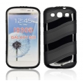 BACK CASE WAVE style - SAM I9300 GALAXY S3 BLACK