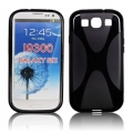 BACK CASE X-line - SAM I9300 GALAXY S3 BLACK