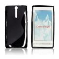 BACK CASE S-line - SON Xperia S/ LT26i BLACK