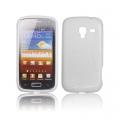 BACK CASE S-line - SAM I8160 GALAXY ACE 2 WHITE