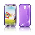 BACK CASE S-line - SAM I9500 GALAXY S4 VIOLET
