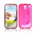 BACK CASE S-line - SAM I9500 GALAXY S4 PINK
