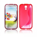 BACK CASE S-line - SAM I9500 GALAXY S4 RED