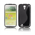 BACK CASE S-line - SAM I9500 GALAXY S4 BLACK