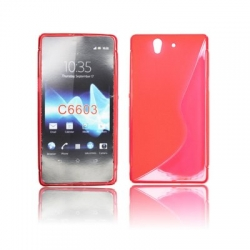 Back Case S-line - SON Xperia M2 red