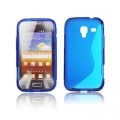 BACK CASE S-line - SAM I8160 GALAXY ACE 2 BLUE