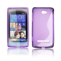 BACK CASE S-line - HTC 8S VIOLET