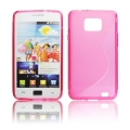 BACK CASE S-line - SAM I9100 GALAXY S2 PINK