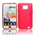 Back Case S-line - SAM I9100 Galaxy S2 red