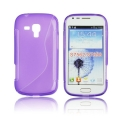 Back Case S-line - SAM S7560 Galaxy Trend/S7562 Galaxy S Duos purple