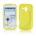 Back Case S-line - SAM S7560 Galaxy Trend/S7562 Galaxy S Duos yellow