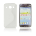 Back Case S-line - SAM I8260 Galaxy Core white