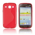 Back Case S-line - SAM I8260 Galaxy Core red
