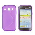 Back Case S-line - SAM I8260 Galaxy Core violet