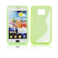 Back Case S-line - SAM I9100 Galaxy S2 green
