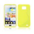 Back Case S-line - SAM I9100 Galaxy S2 yellow