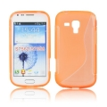 Back Case S-line - SAM Galaxy S5 orange