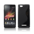 Back Case S-line - SON Xperia M2 black