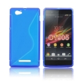 Back Case S-line - SON Xperia M2 blue