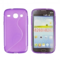 Back Case S-line - SAM G350/G3502 Galaxy Core Plus - violet
