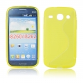 Back Case S-line - SAM G350/G3502 Galaxy Core Plus yellow