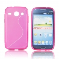 Back Case S-line - SAM G350/G3502 Galaxy Core Plus pink