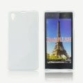 Back Case S-line - SON Xperia Z1 Compact white
