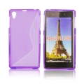 Back Case S-line - SON Xperia Z1 Compact purple