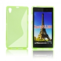 Back Case S-line - SON XPERIA Z1 Compact green