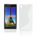 Back Case S-line - SON Xperia Z1 Compact transparent